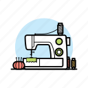 appliance, craft, machine, needle, sewing, tailor, thread icon