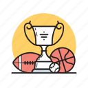 ball, cup, football, sport, tennis, trophy, winner icon
