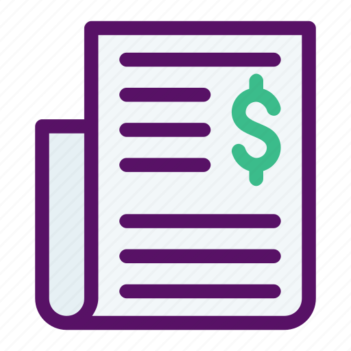 daily, economy, news, paper, print icon