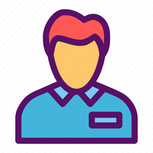 bank, employee, employer, team, teller icon