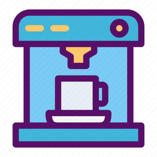 bean, coffee, machine, maker, roast icon