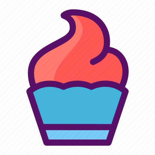 cup cake, dessert, froyo, muffin, treat icon