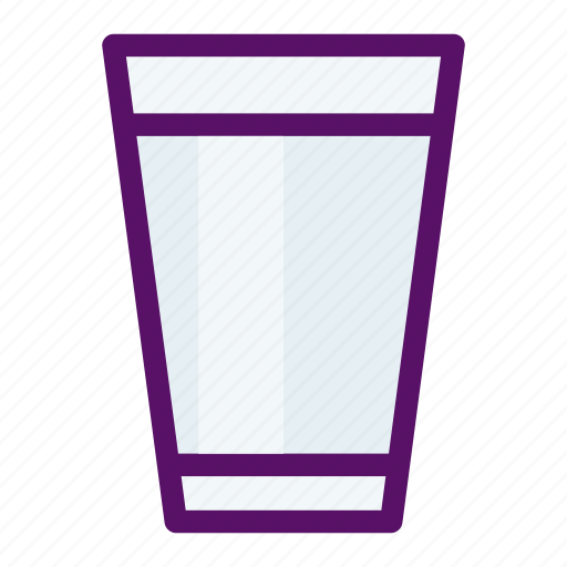cup, drink, glass, milk, water icon