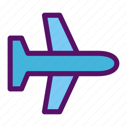 airplane, attendant, flight, fly, passanger icon