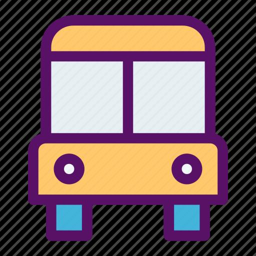 bus, fare, passanger, transit, travel icon