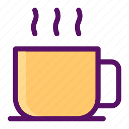 cafeteria, coffee, drink, hot, tea icon