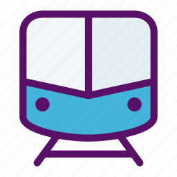 mass, passenger, rapid, train, transportation icon