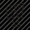 arrow, book, up, upload icon