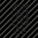 arrow, paper, up, upload icon