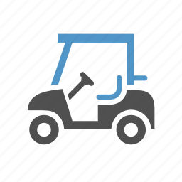 cart, golf, golf car, golf cart, sport icon
