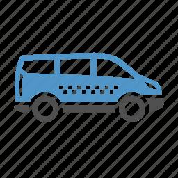 cab, car, taxi, travel, urban transport icon