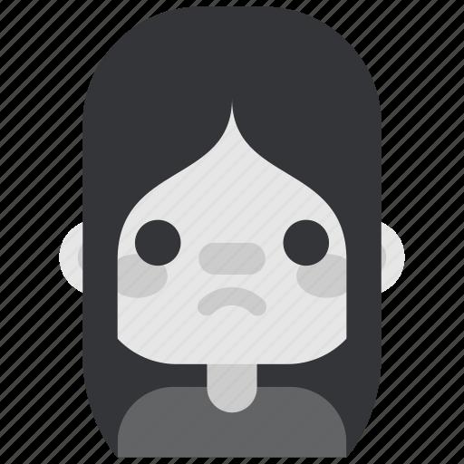 avatar, girl, goth, sad, tribes, urban, youth icon