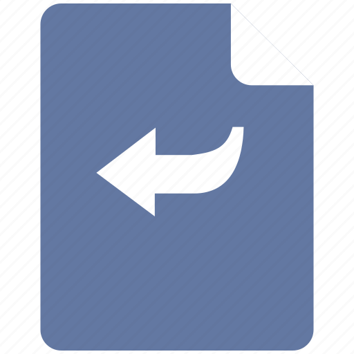 back, editor, operation, previous, text icon