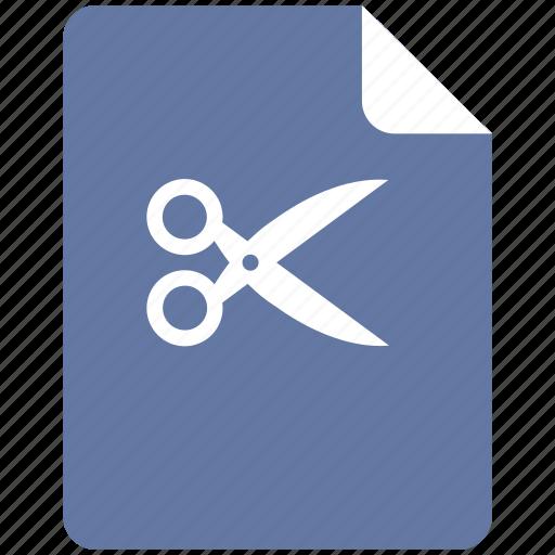 cut, edit, erase, format, text icon