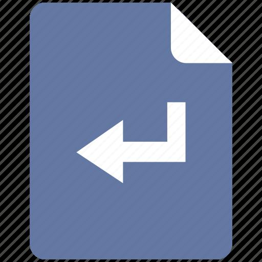 edit, enter, function, text icon