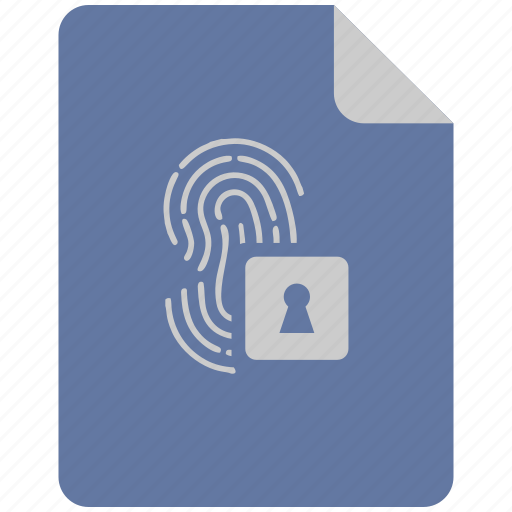 access, bio, biometry, dactyl, finger icon