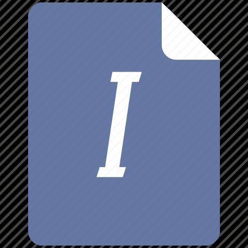 edit, format, italic, style, text icon