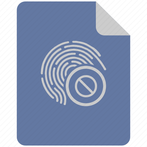 access, biometry, dactyl, finger, lock icon