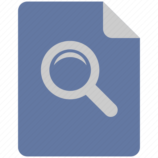 instrument, loop, magnifier, scale icon