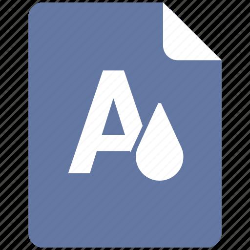 color, edit, format, text icon
