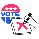 vote, voting icon