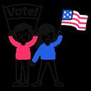 election, vote, voting icon