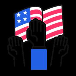 raise, hands