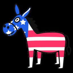 democrat, donkey
