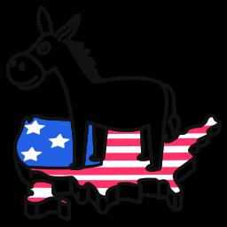 democrat, usa, donkey