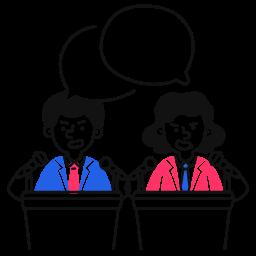 political, discussion, debate