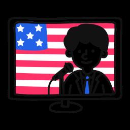 tv, politican, on