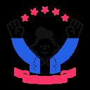 election, winner icon