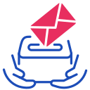 ballot, vote, box icon