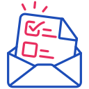 vote, letter, mail, envelope icon