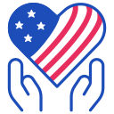 healthcare, debate, heart icon