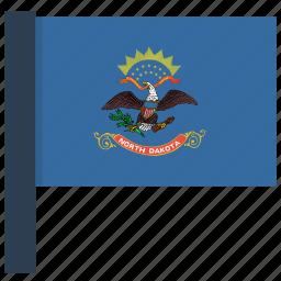 dakota, north icon