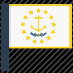 island, rhode icon