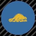 american, circle, circular, flag, oregon, reverse, state icon