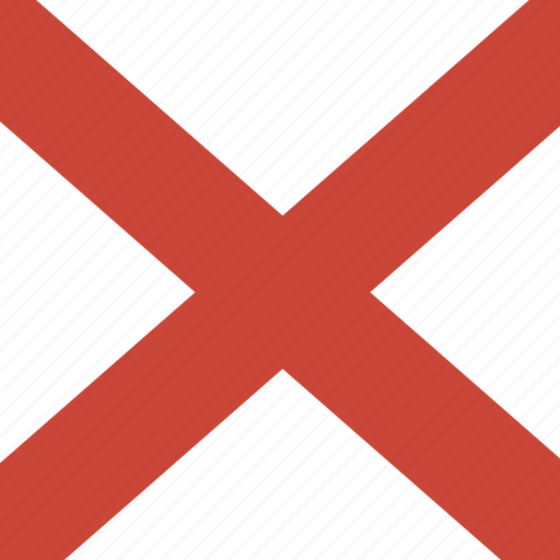 alabama, american, flag, square, state icon