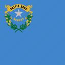 american, flag, nevada, square, state icon