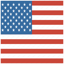 american, flag, square, states, united, us, usa icon
