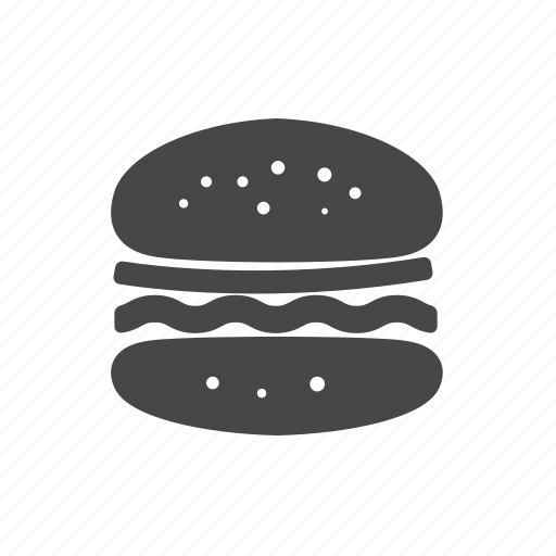 fastfood, food, hamburger, usa icon