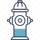crane, fire, street, usa icon