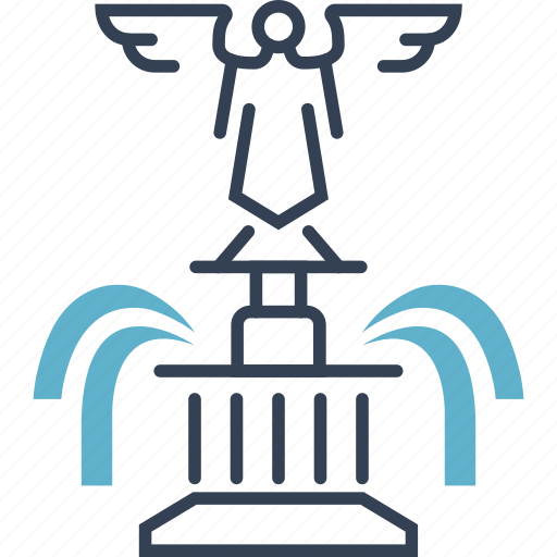 angel, landmark, sculpture, the, usa icon