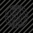 alabama, america, seal, state, state seal, state symbol, usa icon