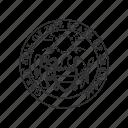 america, arkansas, seal, state, state seal, state symbol, usa