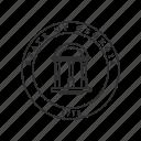 america, georgia, seal, state, state seal, state symbol, usa icon