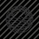 america, kansas, seal, state, state seal, state symbol, usa icon