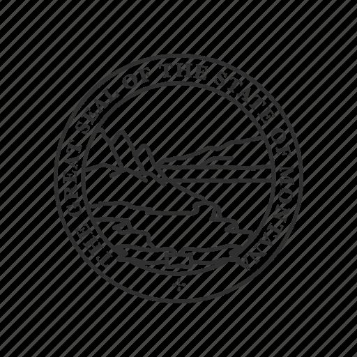 america, montana, seal, state, state seal, state symbol, usa icon