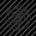 america, oregon, seal, state, state seal, state symbol, usa icon